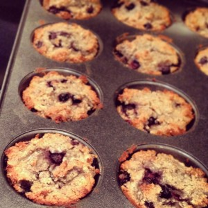 Blueberry Coconut Muffin 3